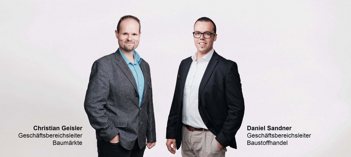Christian Geisler und Daniel Sandner