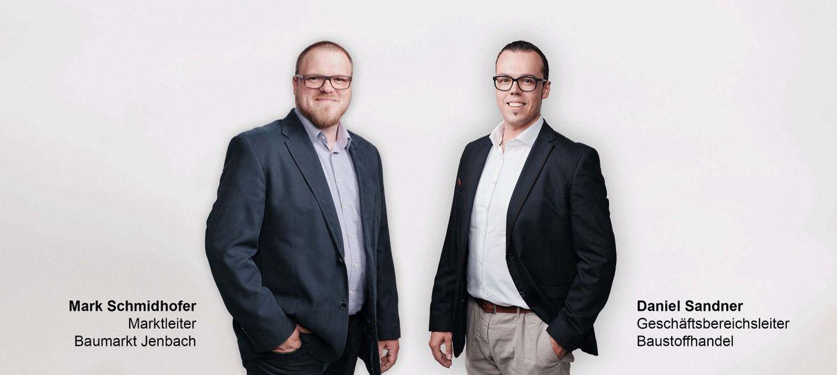 Mark Schmidhofer und Daniel Sandner