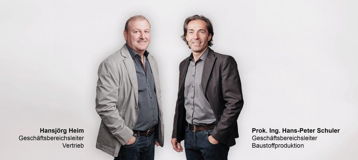 Hansjörg Heim und Hans-Peter Schuler