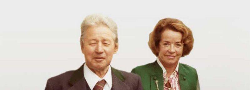 Das Gründerehepaar - Ing. Hans Lang (†1983) und Grete Lang (†1992)
